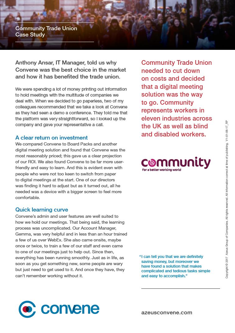 Community Trade Union