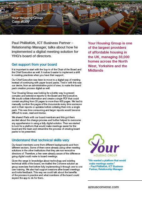 Your Housing Group case study