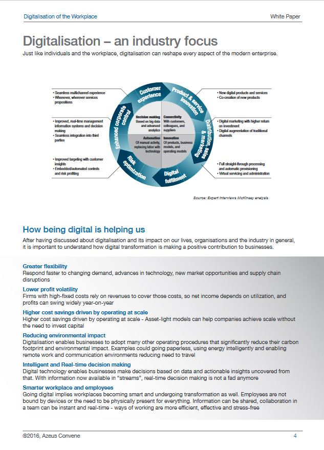 Azeus Convene's Whitepaper on Digitalisation of the Workplace