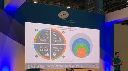 BEtt show UCLAN spheres of influence