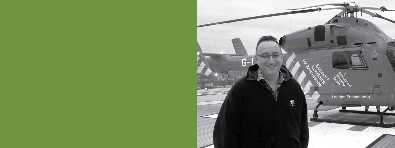 London Air Ambulance - Jonathan Jenkins, CEO