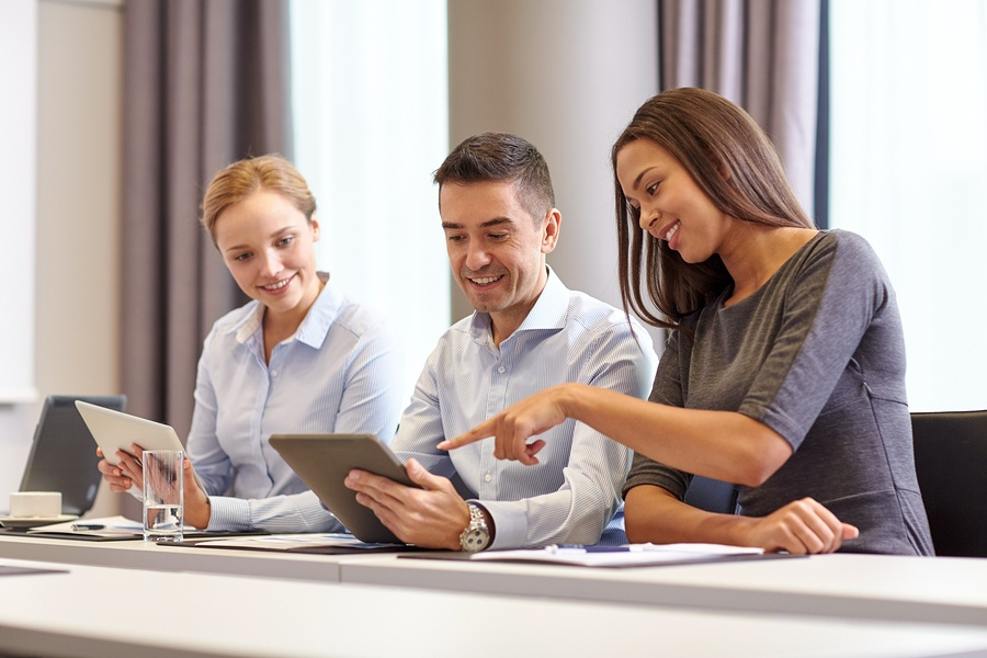 Convene's digital meeting app is secure and has document access control
