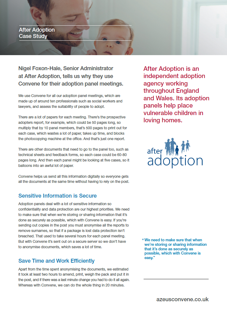 After Adoption Case Study
