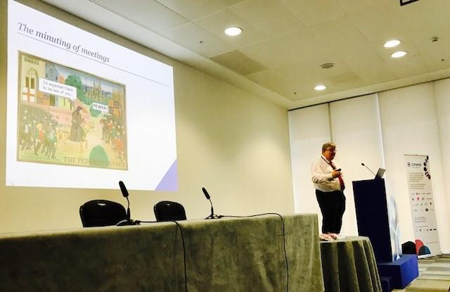 Peter Swabey talks about minuting