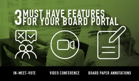 3 board portal features