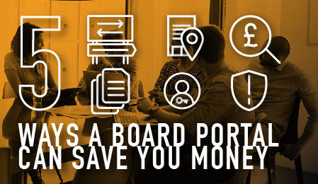 5 ways a board portal can save you money